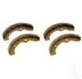Where to rent BRAKE SHOES  SET OF 4 in Ashland KY