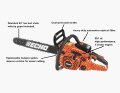 Where to rent SAW,CHAIN 20  ECHO CS-590 in Ashland KY